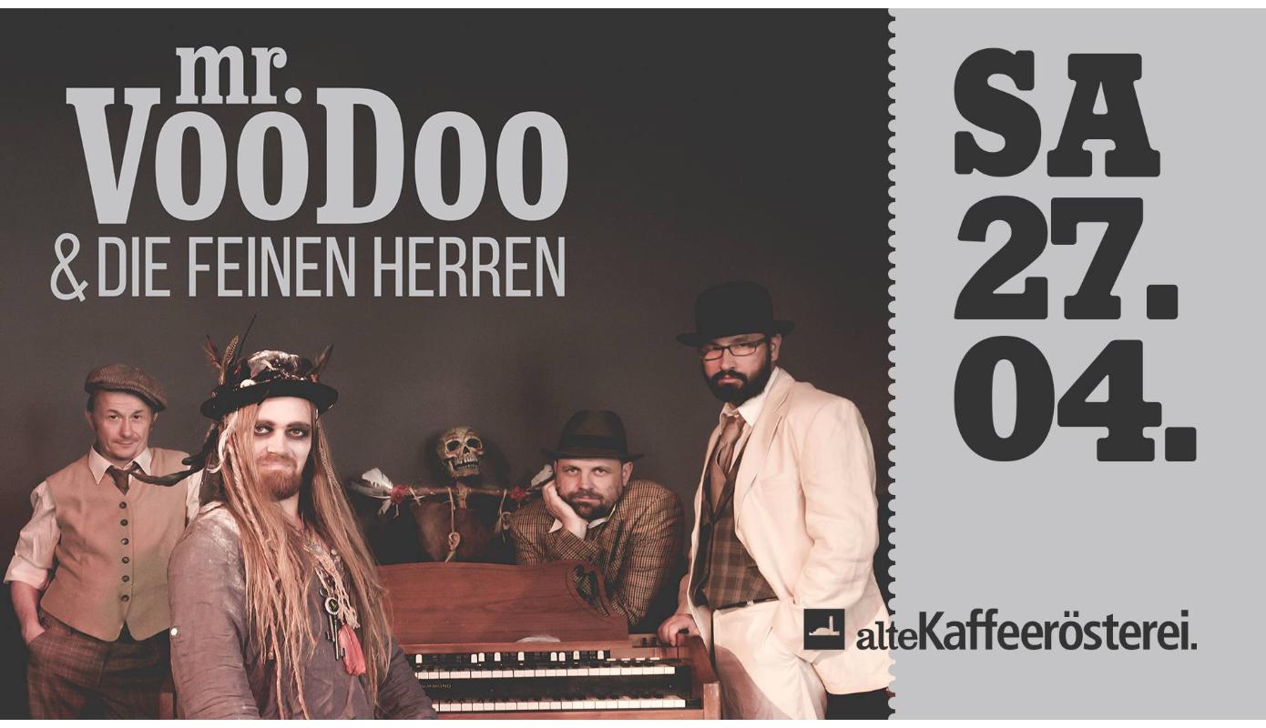 Preview: Mister Voodoo & die Feinen Herren