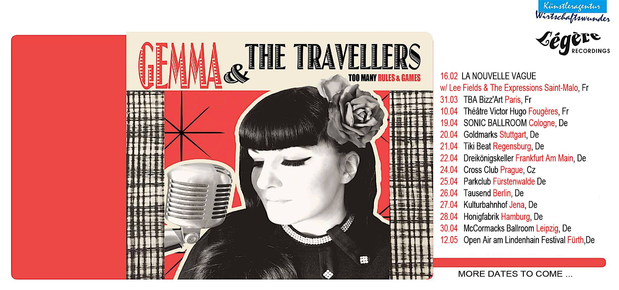 Preview: Gemma & The Travellers