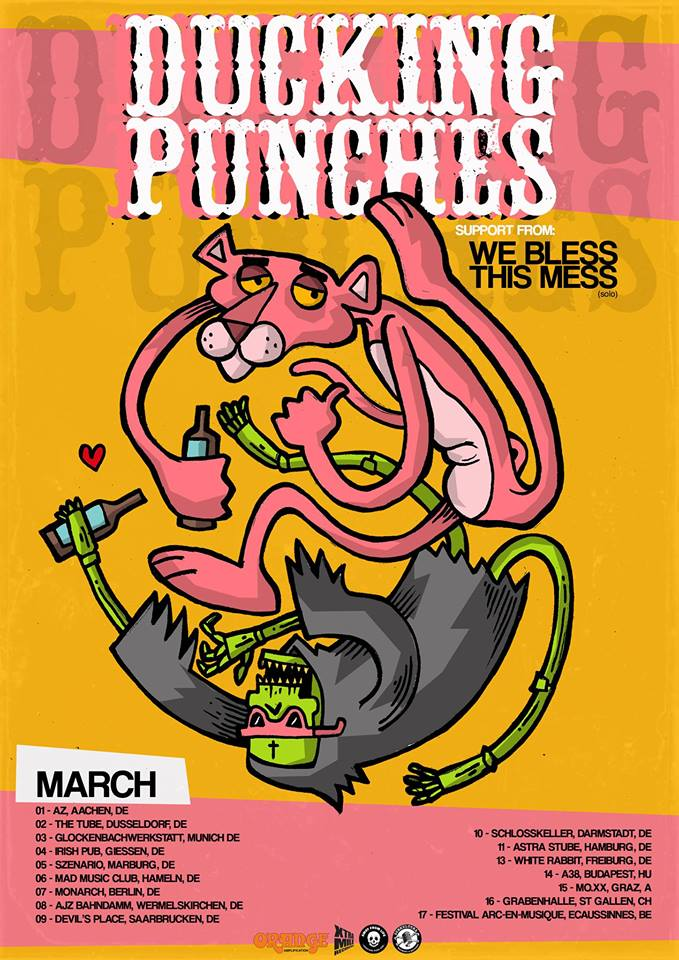 Preview: Ducking Punches & We Bless This Mess