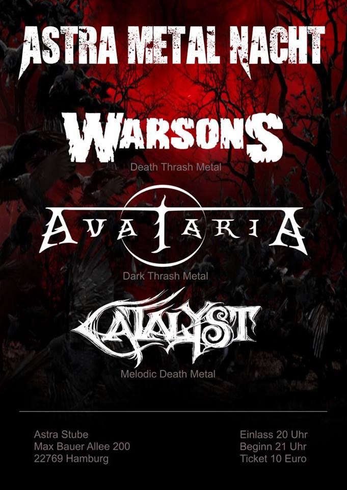 Preview: AVATARIA & WARSONS & CATALYST