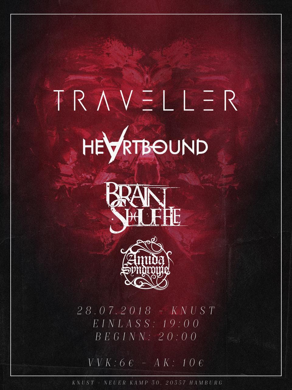 Preview: TRAVELLER + BRAIN SHUFFLE u.a.