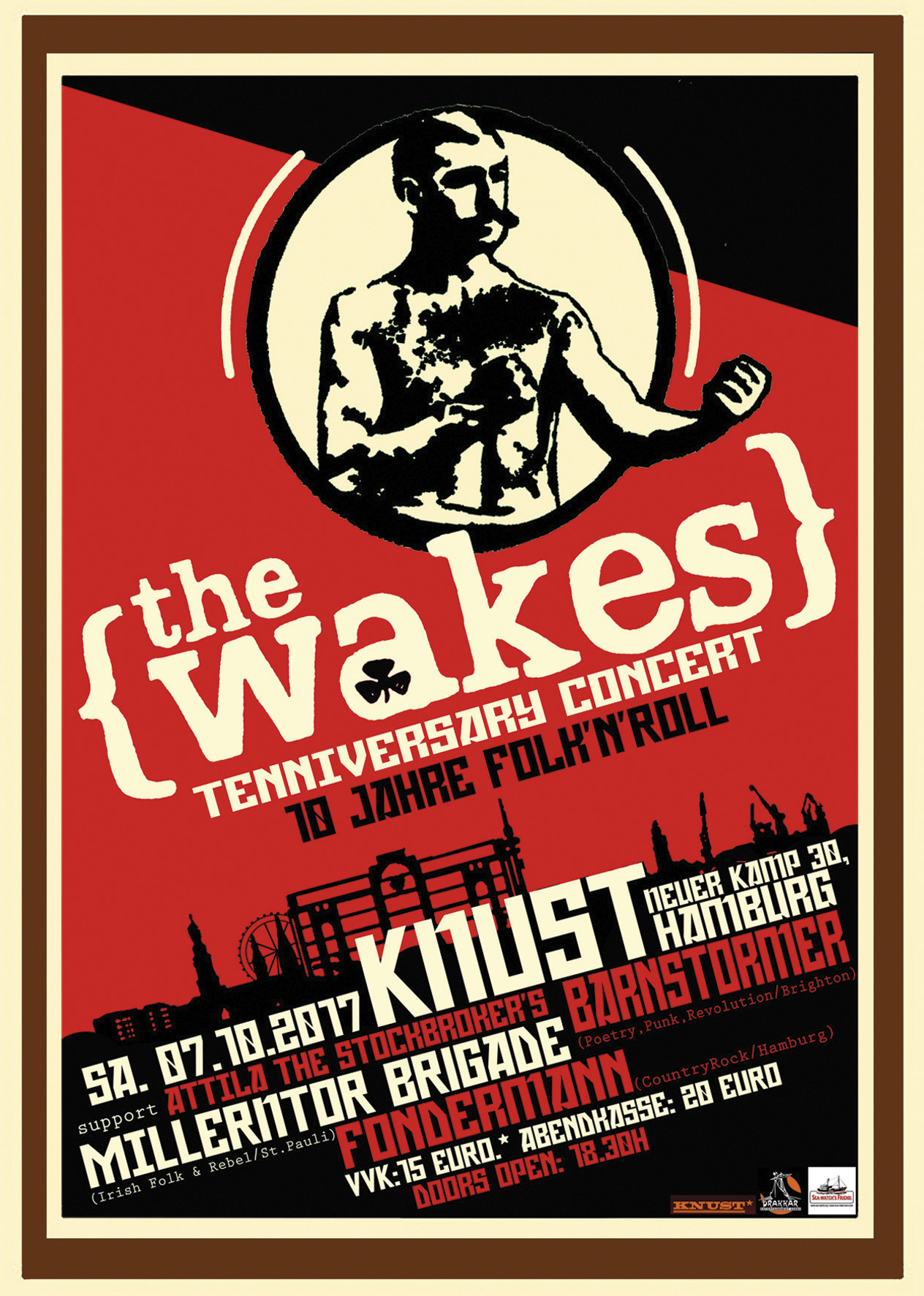 Preview: THE WAKES - 10YRS SHOW
