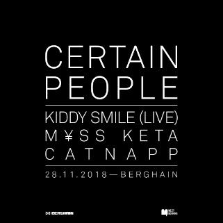Preview: CERTAIN PEOPLE