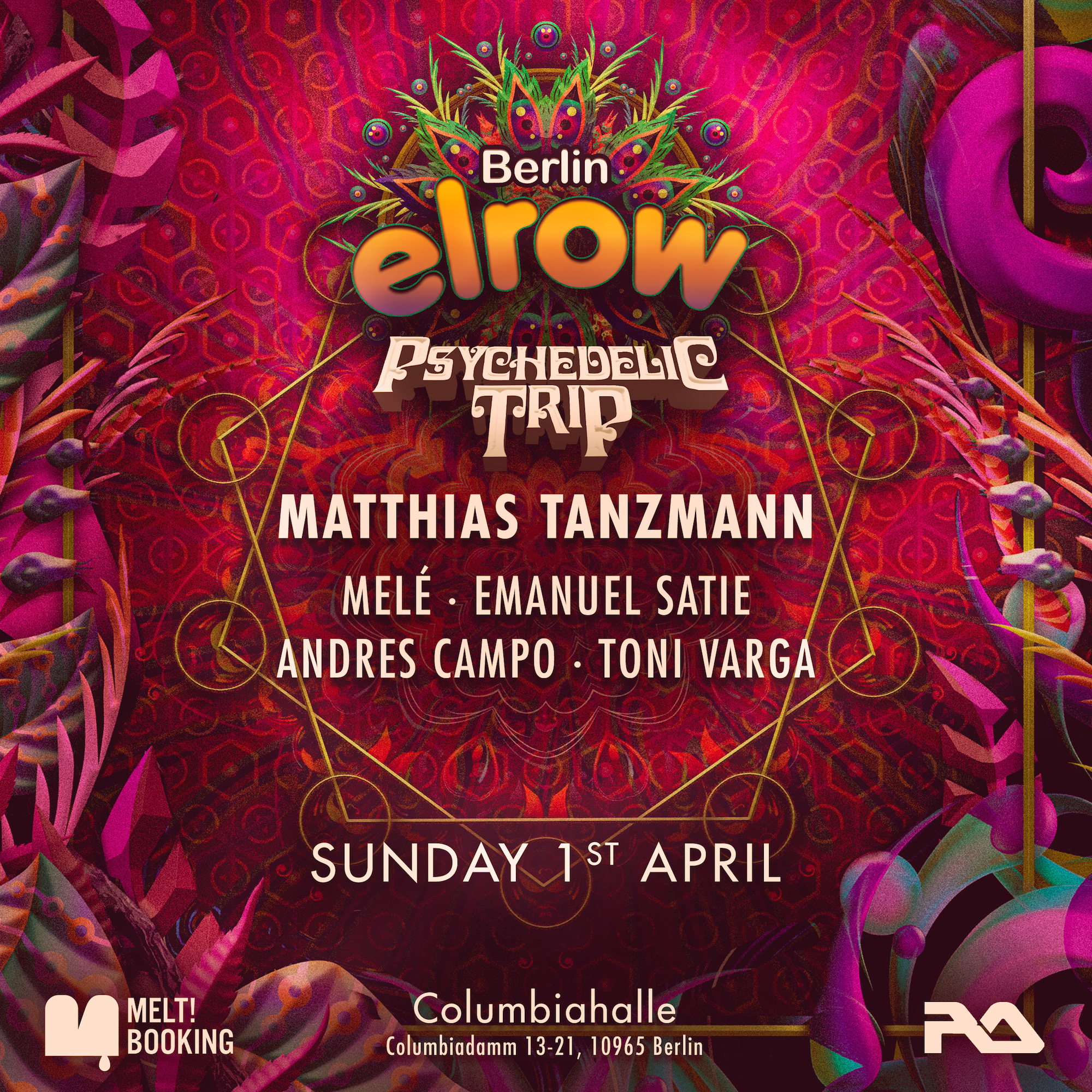 Preview: ELROW - Psychedelic Trip