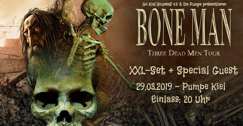 Preview: Bone Man + support