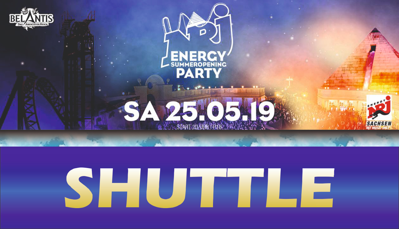 Preview: ENERGY SummerOpening Party - SHUTTLE