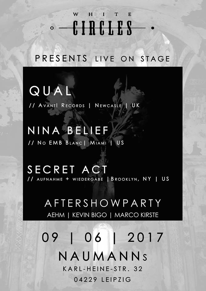 Preview: Qual + Nina Belief + Secret Act live