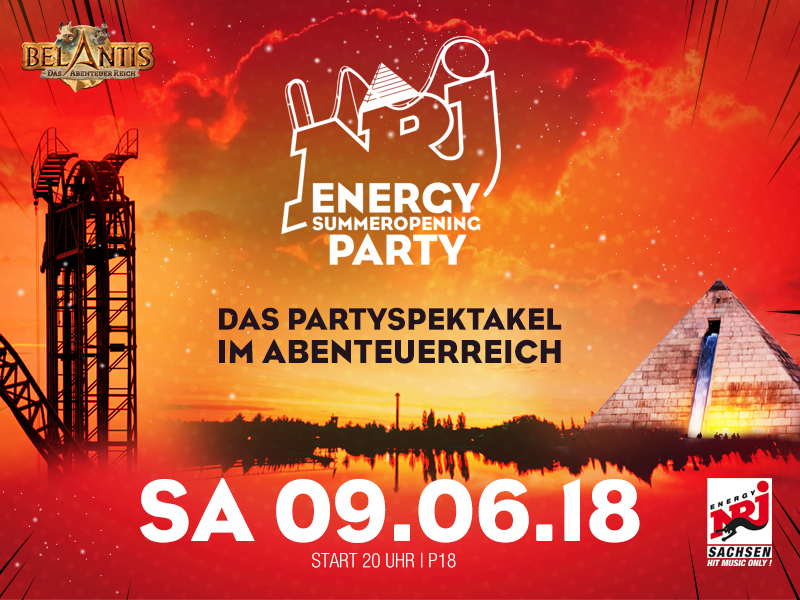 Preview: ENERGY SummerOpening Party, BELANTIS
