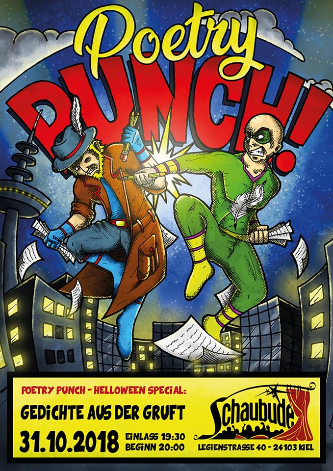 Preview: Gedichte aus der Gruft-Poetry Punch