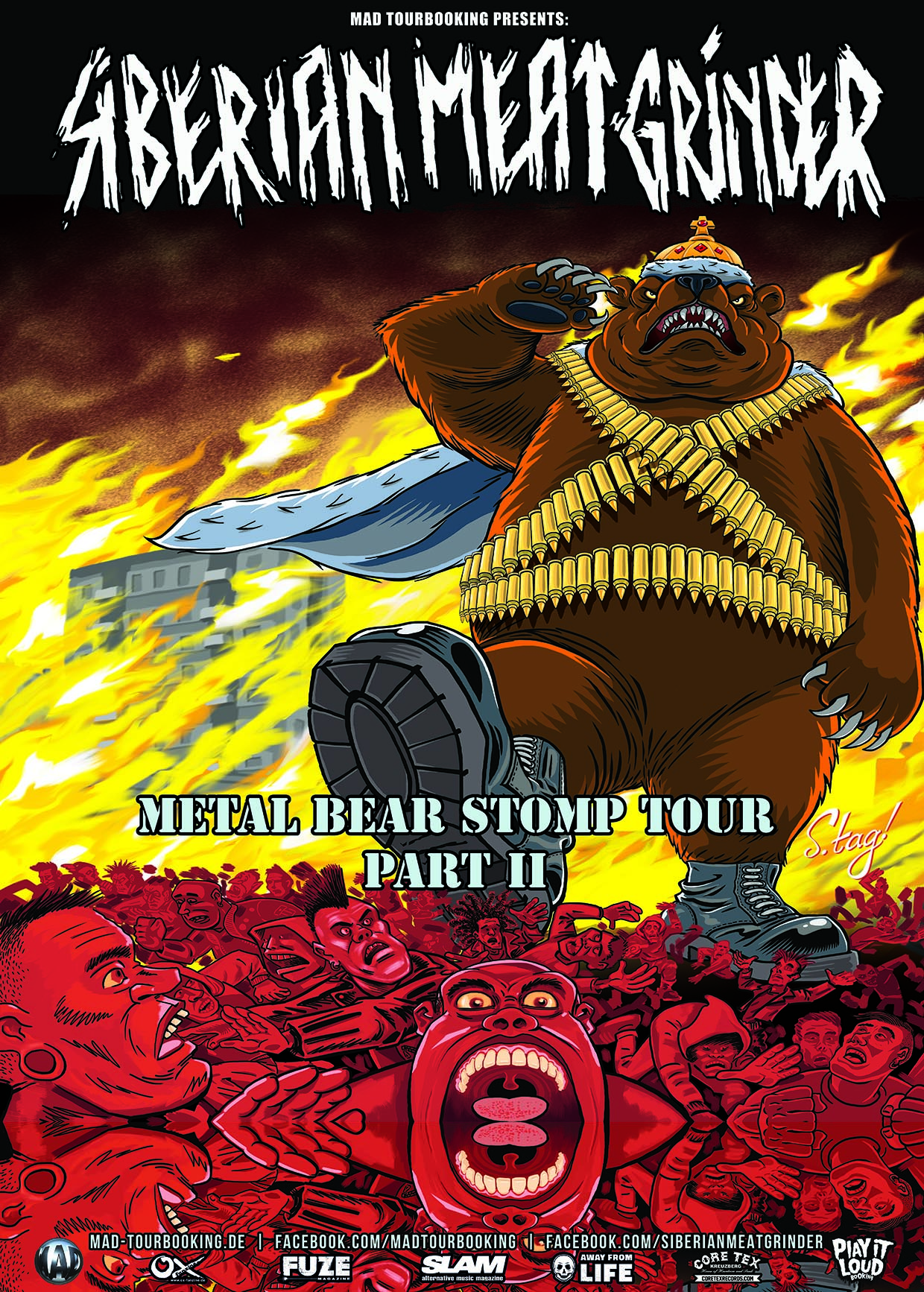 Preview: Siberian Meat Grinder