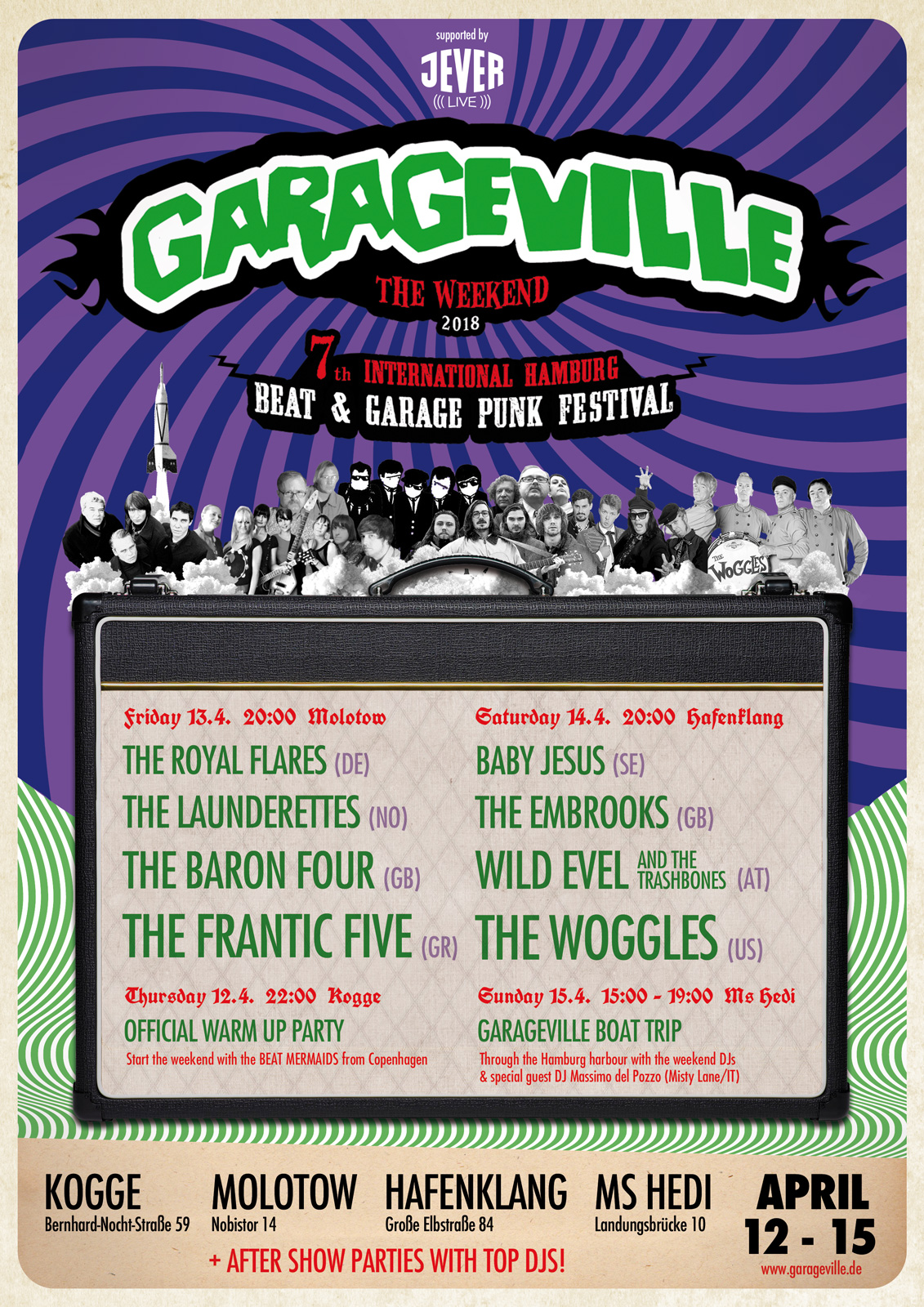 Preview: Garageville - The Weekend - 2018