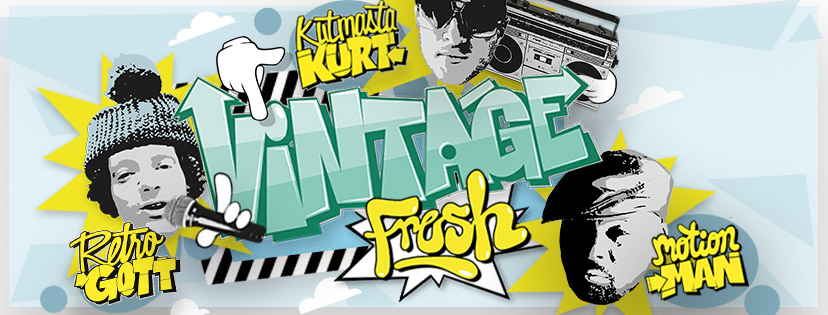 Preview: Retrogott, Kutmasta Kurt, Motion Man