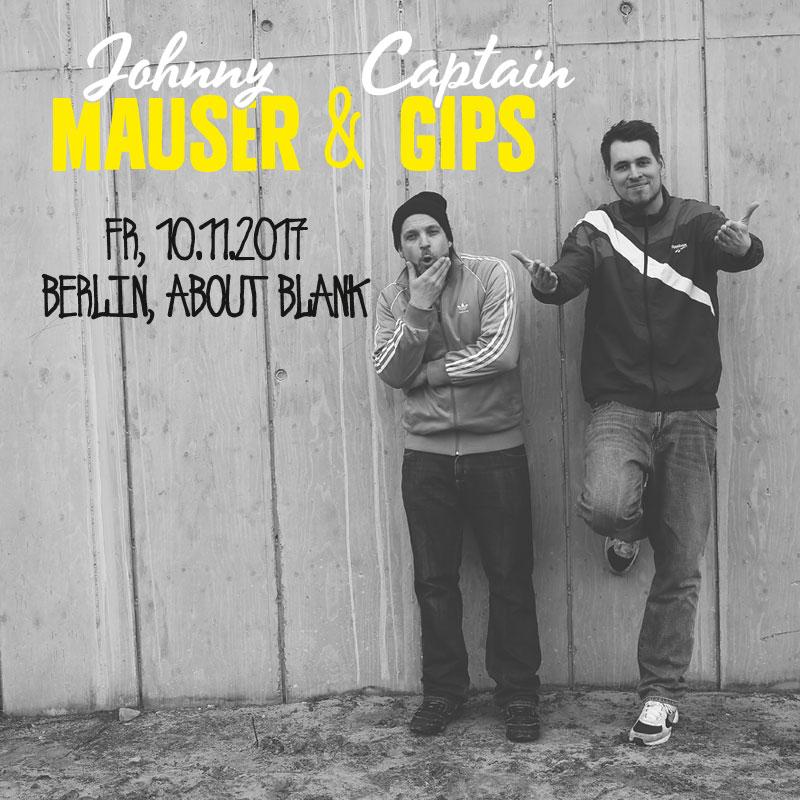 Preview: Johnny Mauser & Captain Gips