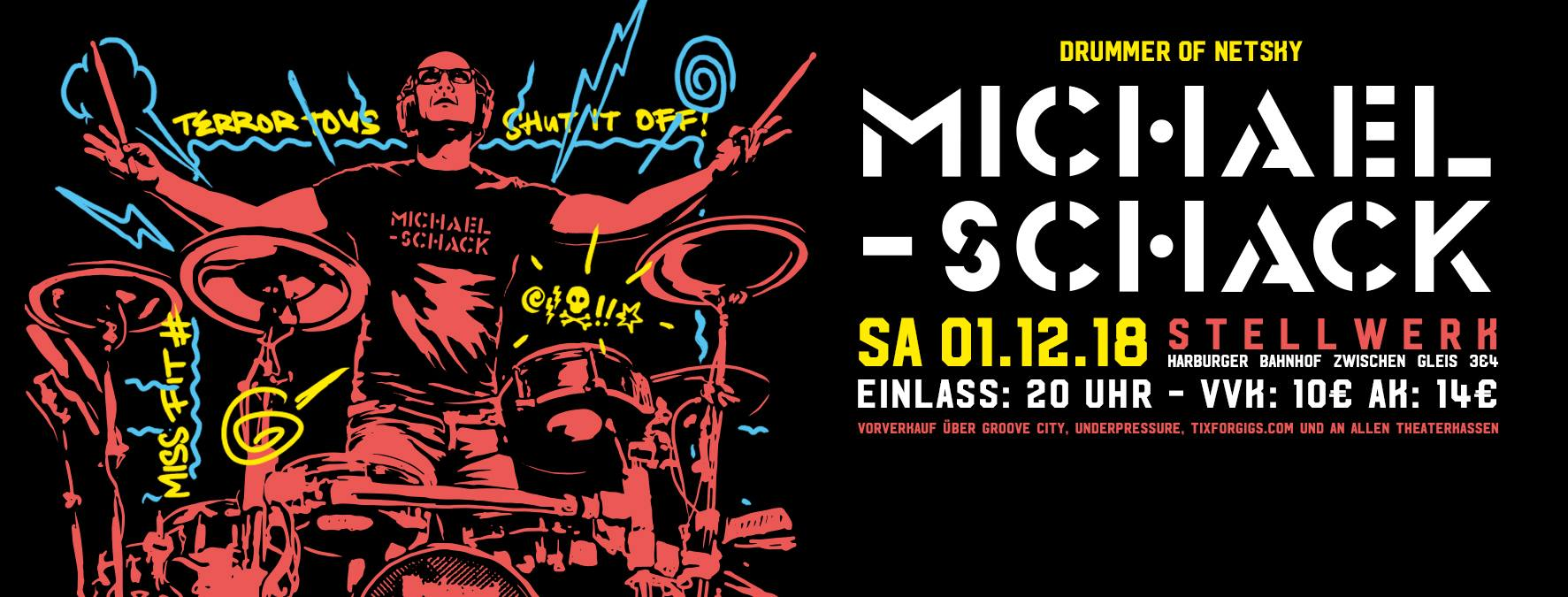 Preview: Michael Schack - LIve