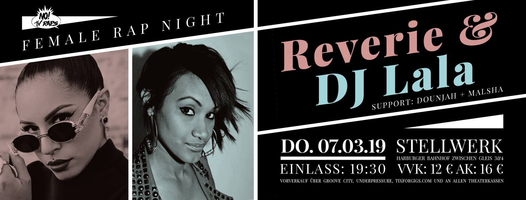 Preview: Female Rap Night feat. Reverie & DJ