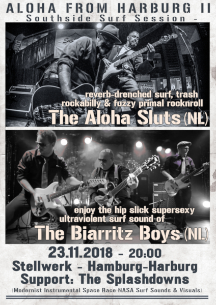 Preview: The Aloha Sluts & The Biarritz Boys