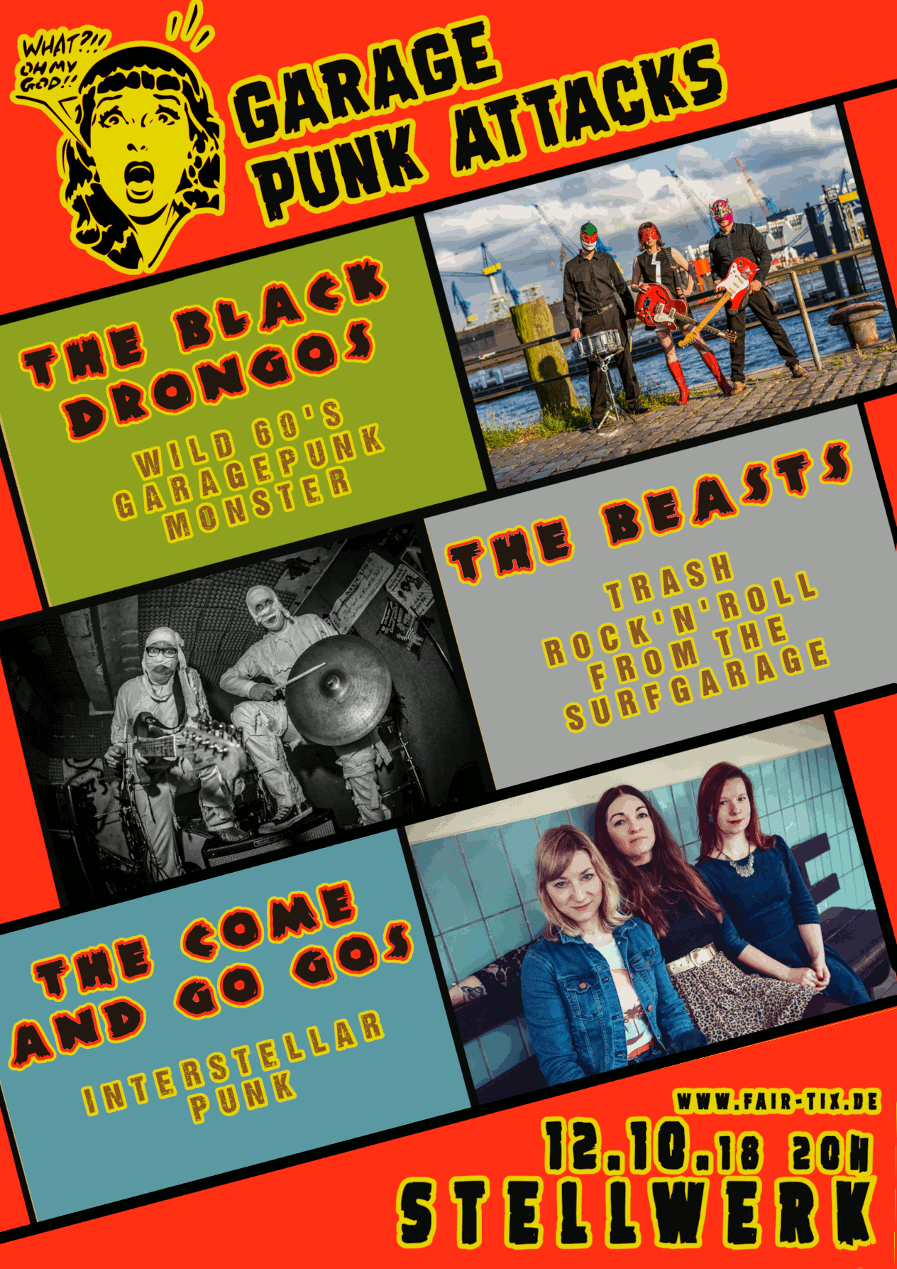 Preview: The Black Drongos & The Beasts