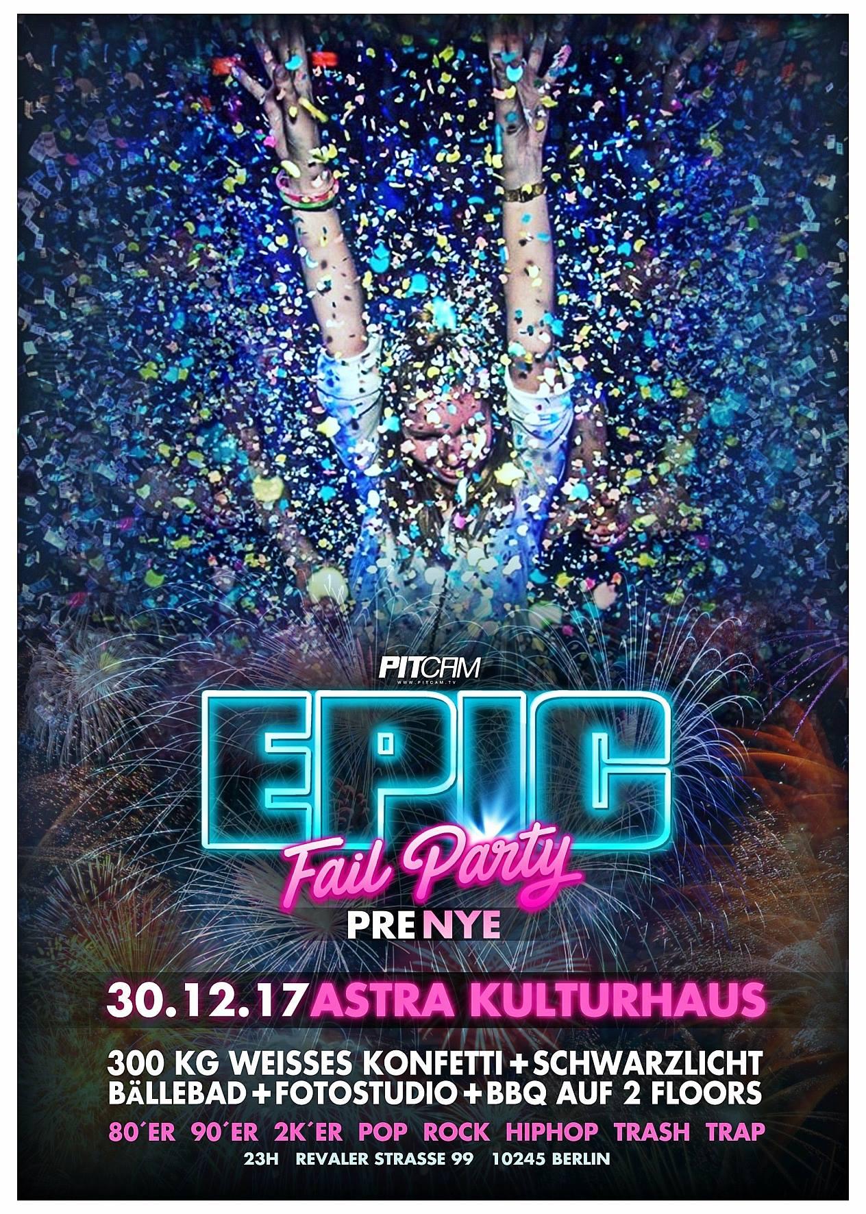 Preview: Epic Fail Party Sa. 30.12.2017 <3