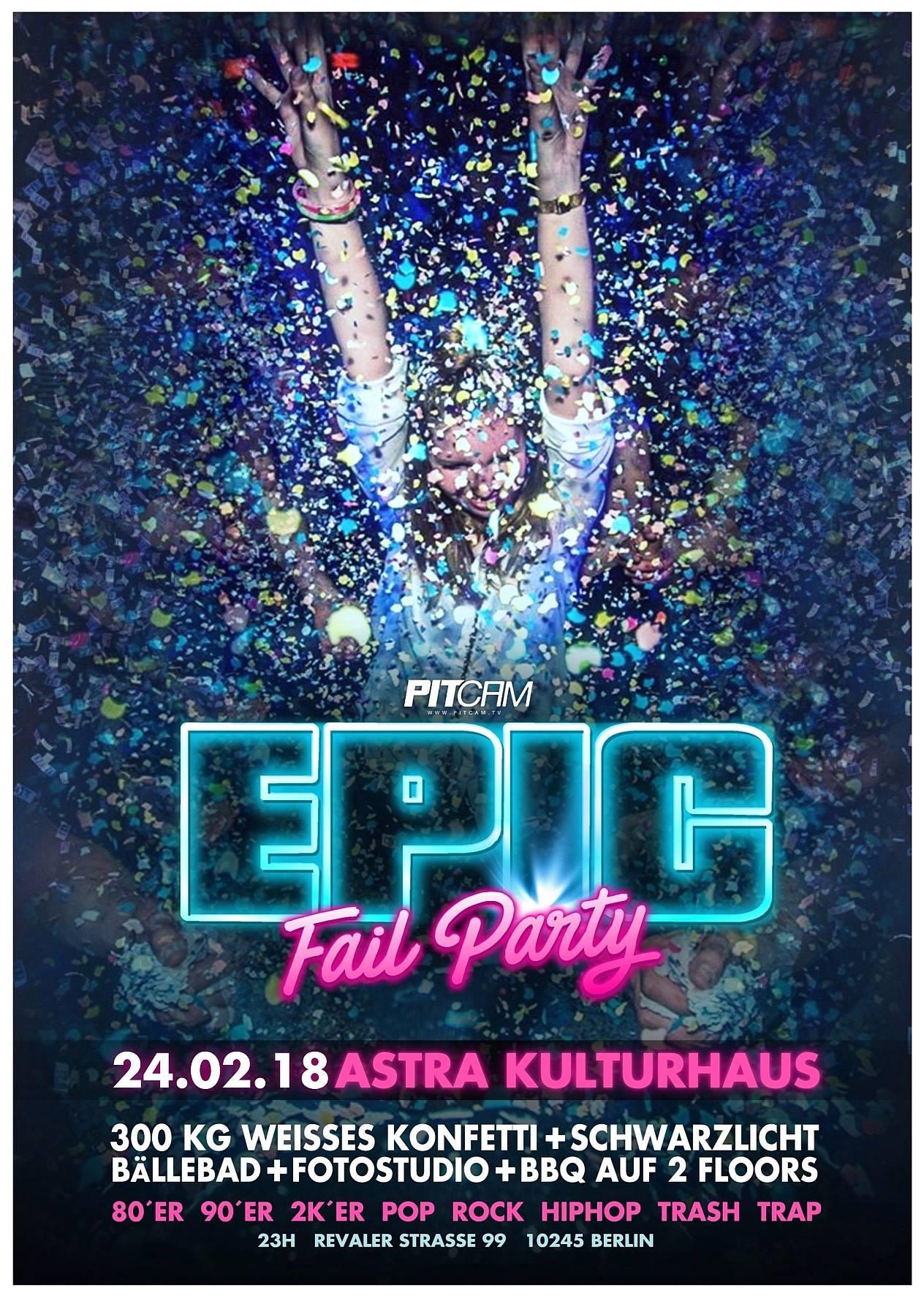 Preview: Epic Fail Party Sa. 24.02.2018 <3