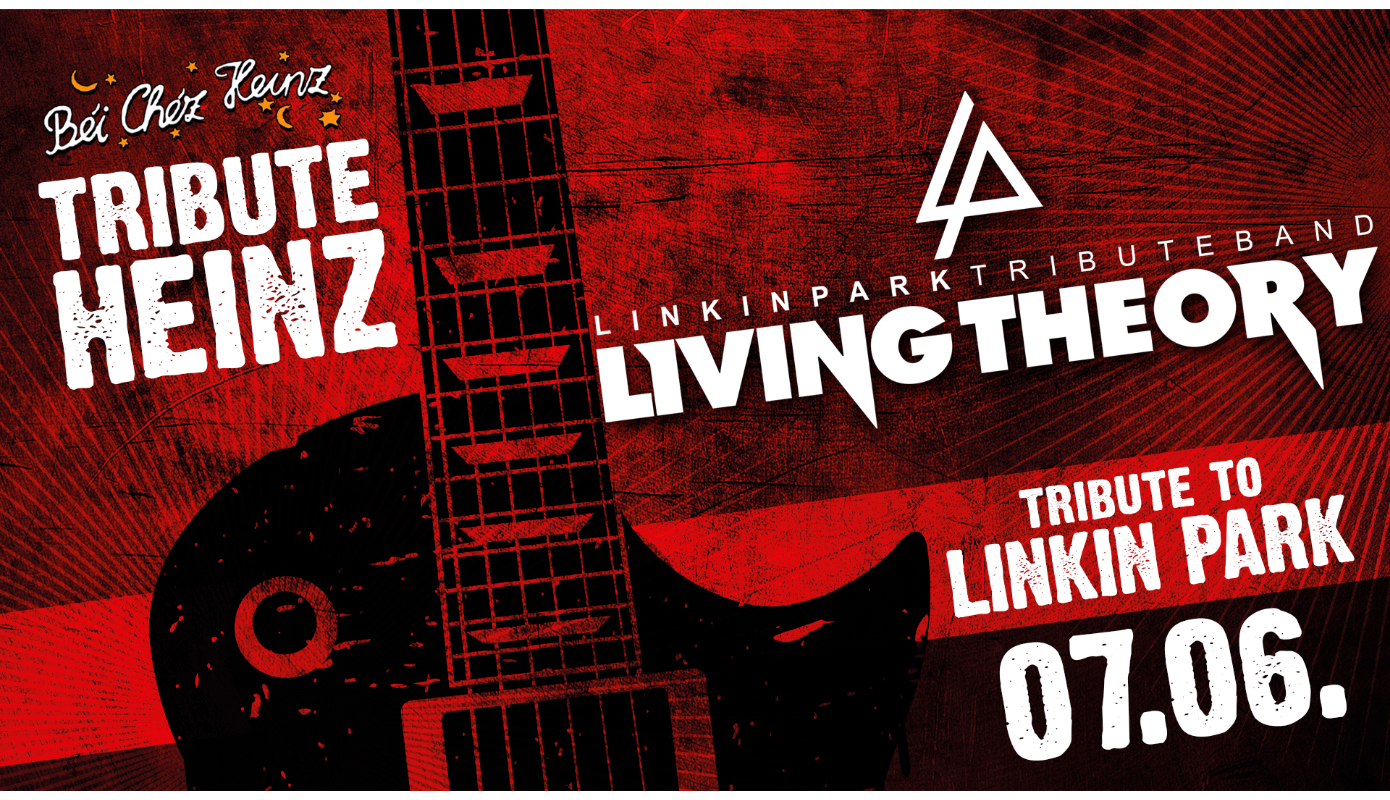 Preview: TRIBUTE HEINZ mit LIVING THEORY