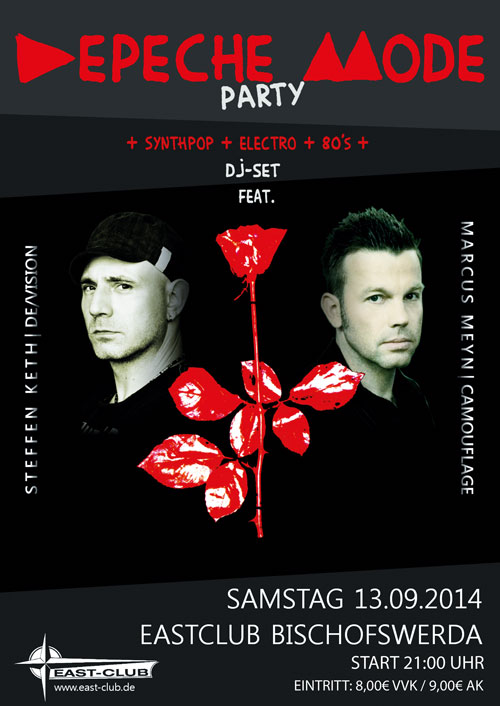 Preview: Depeche Mode Party