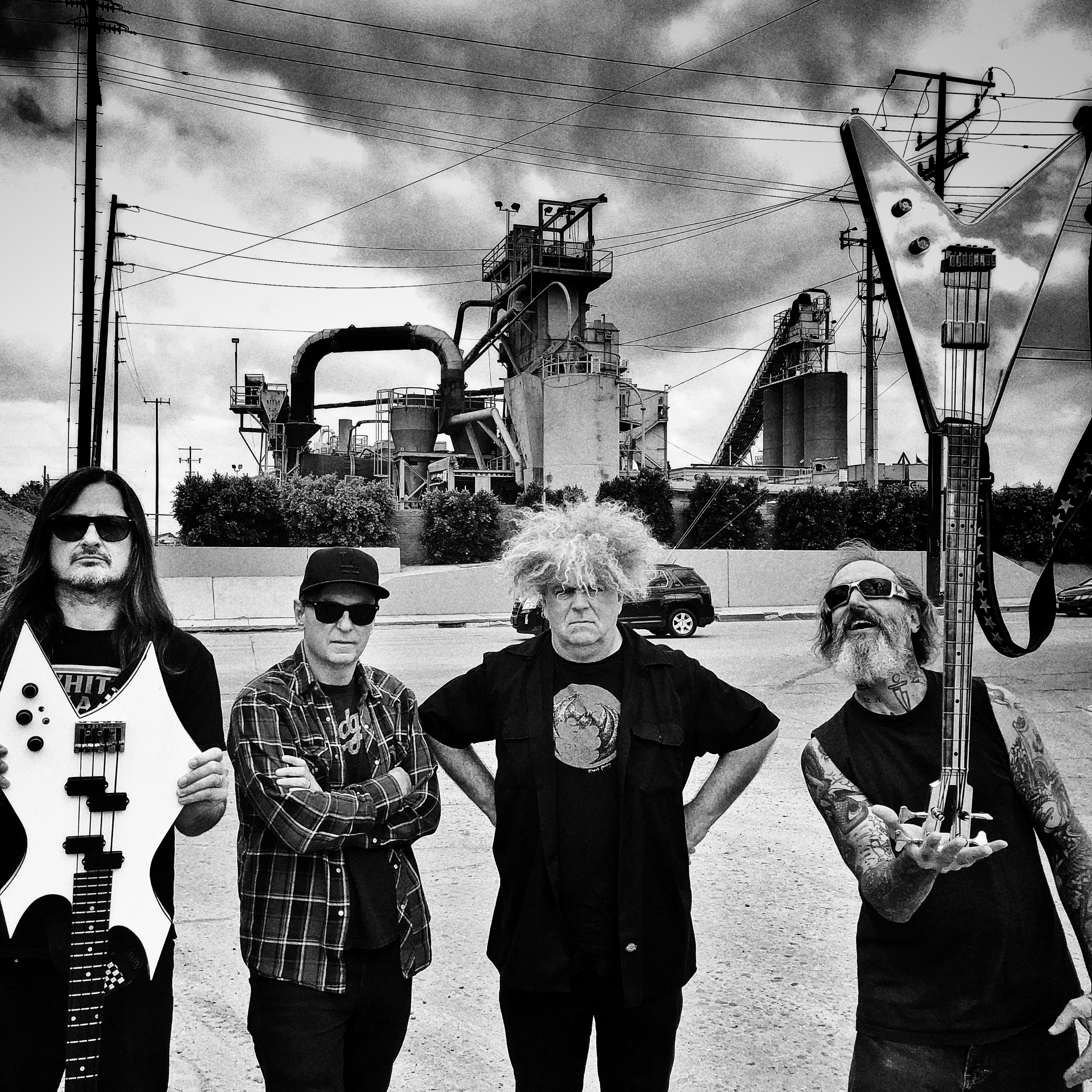 Preview: THE MELVINS (us/Ipecac)