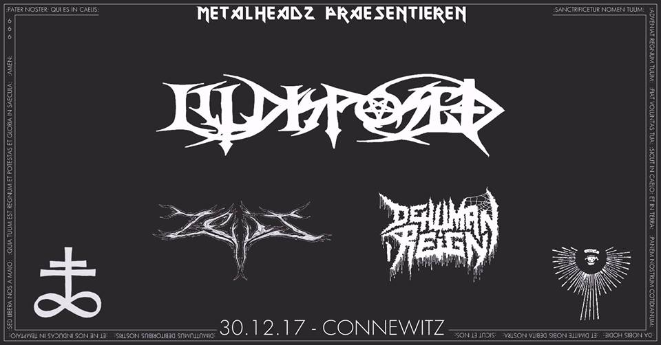 Preview: ILLDISPOSED & ZEIT & DEHUMAN REIGN