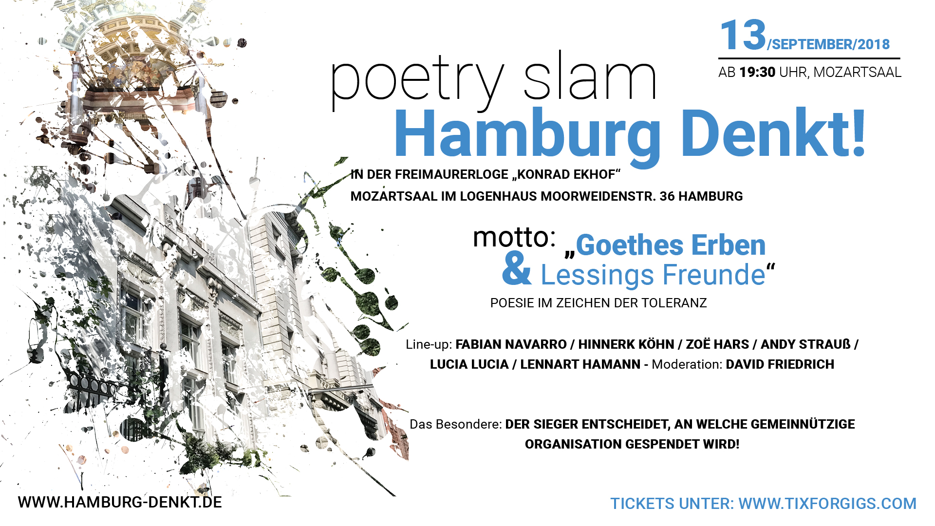 Preview: poetry slam - Hamburg denkt