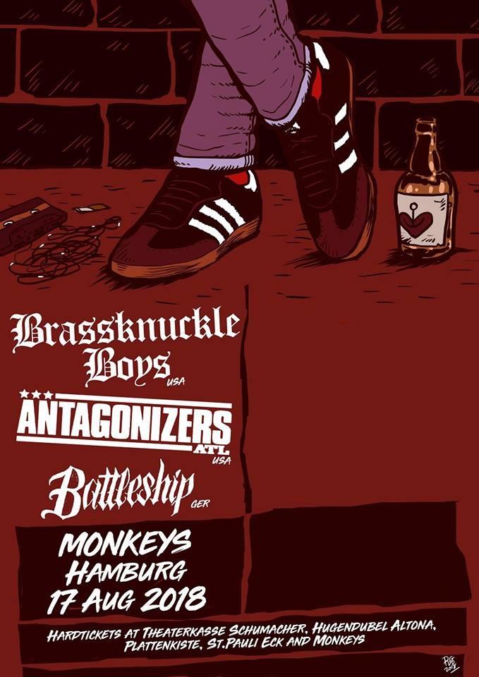 Preview: Brassknuckle Boys + Battleship