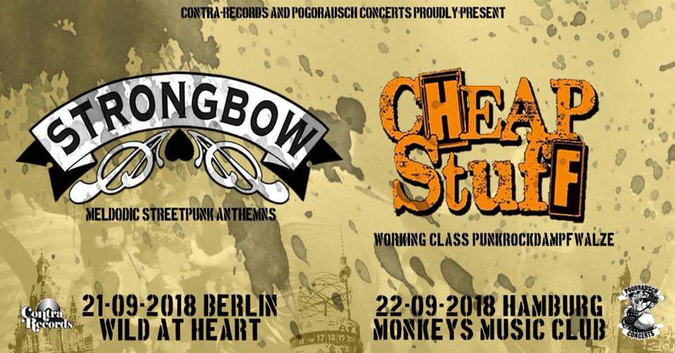 Preview: Strongbow + Cheap Stuff
