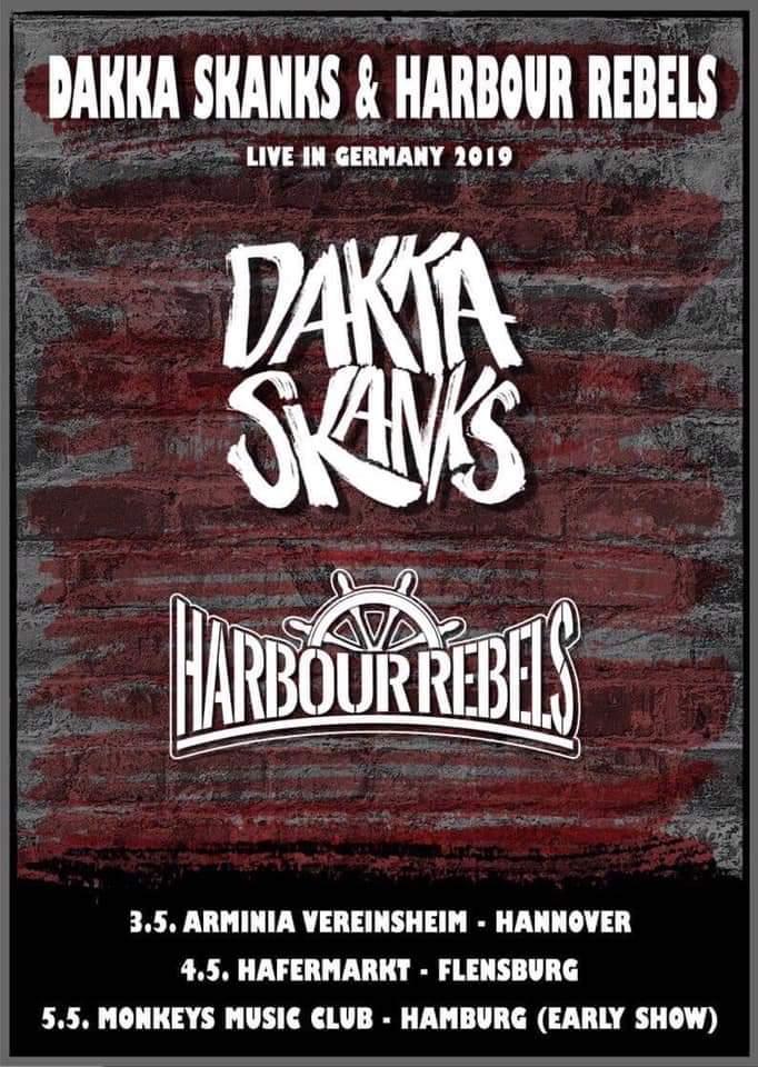 Preview: Dakka Skanks + Harbour Rebels