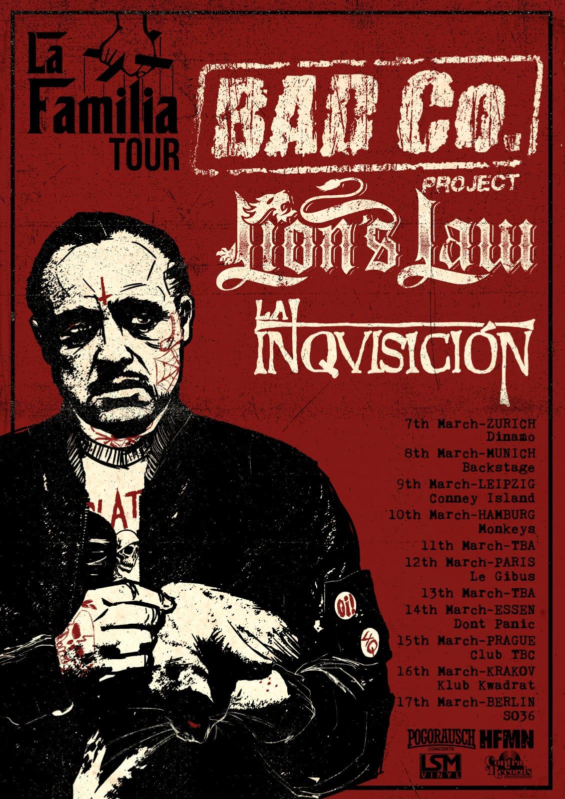 Preview: La Familia Tour