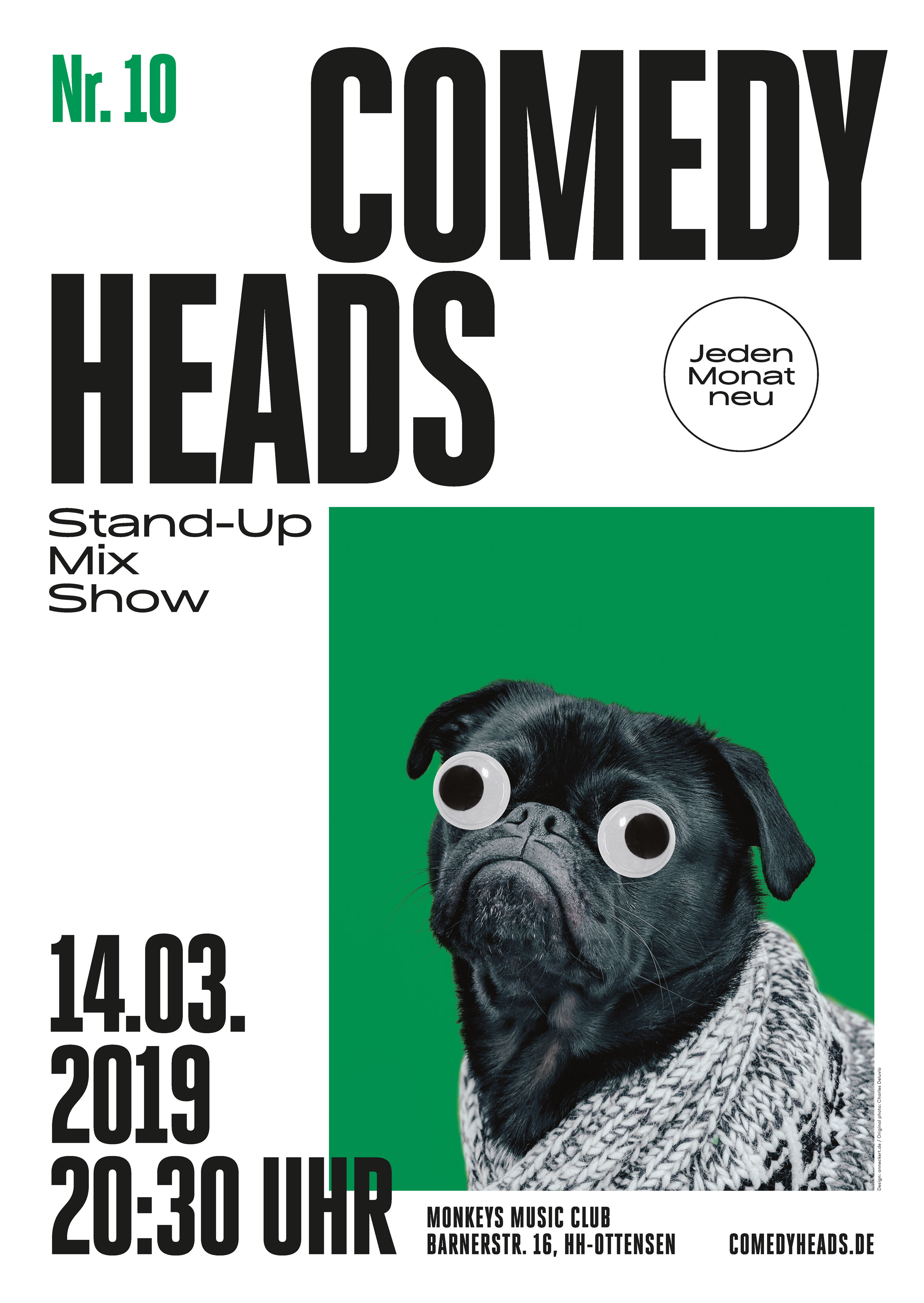 Preview: Comedyheads Stand-Up Show #10