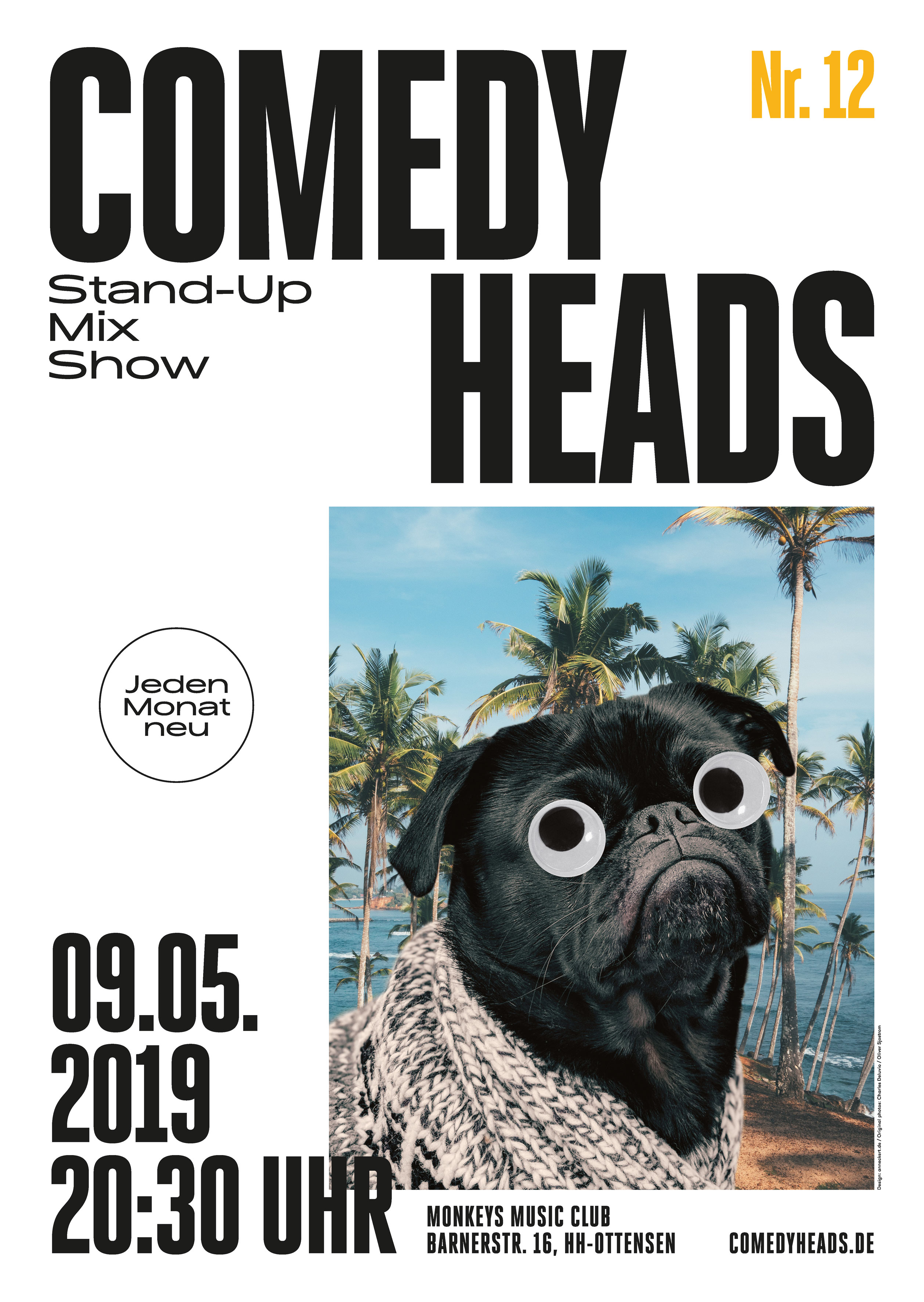 Preview: Comedyheads Stand-Up Show #12