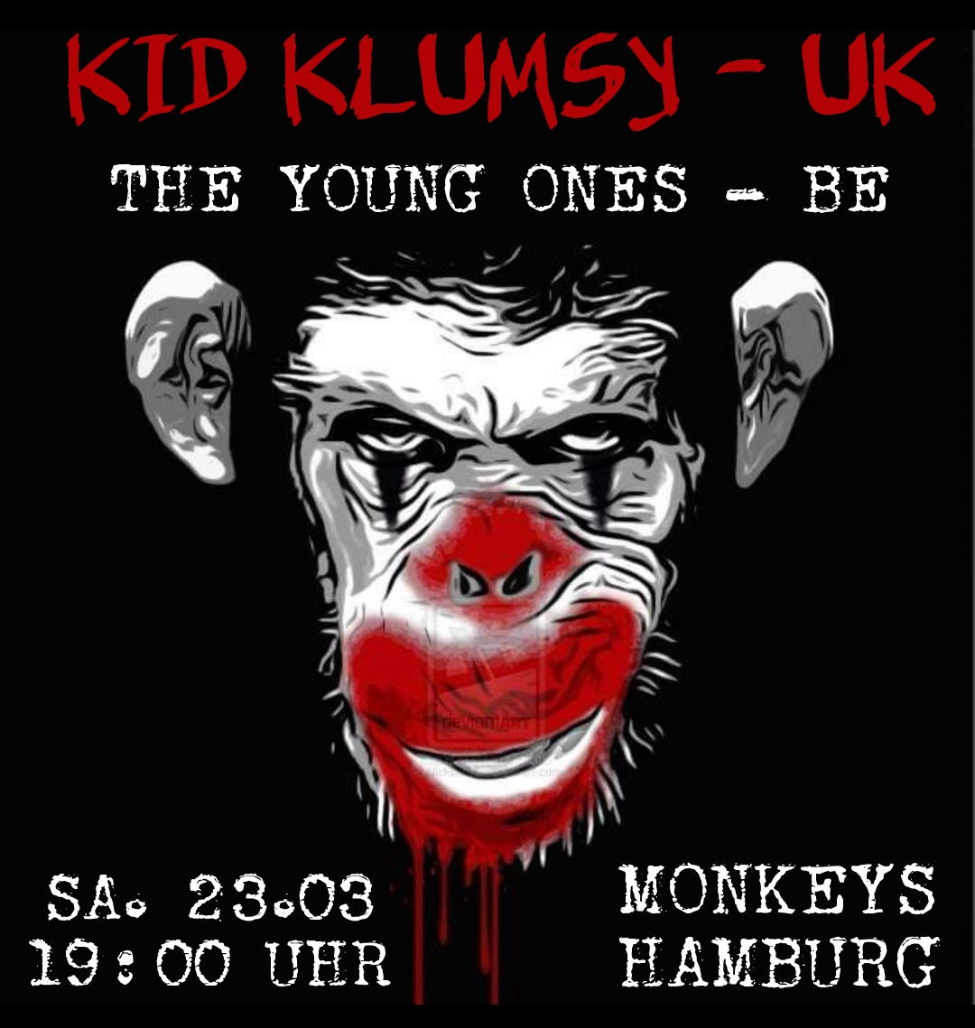 Preview: KID KLUMSY - UK + THE YOUNG ONES - B