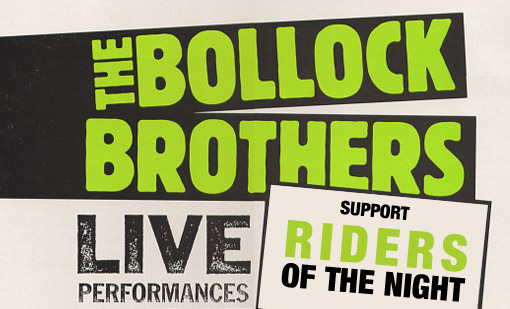 Preview: Bollock Brothers /UK