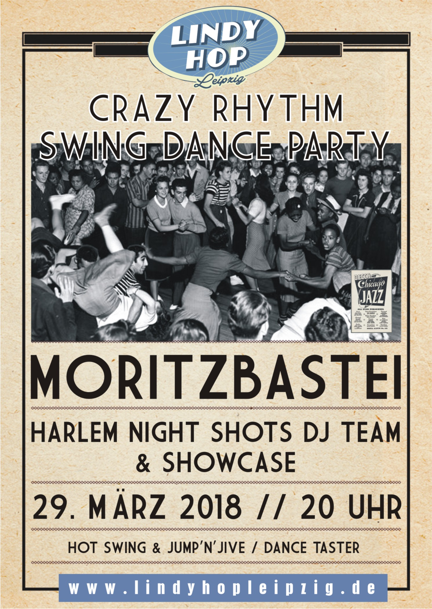 Preview: Crazy Rhythm Swing Dance Party