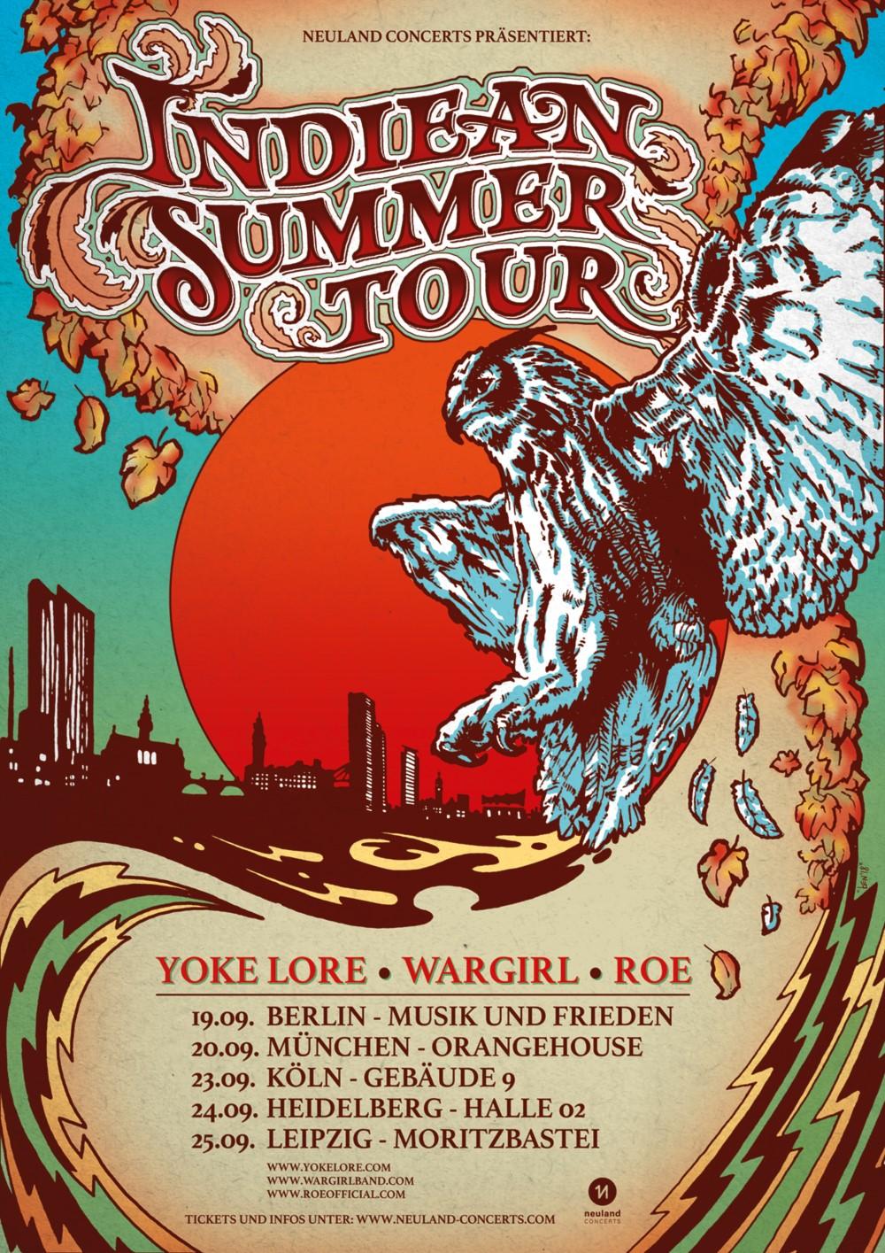 Preview: Indiean Summer Tour 2018