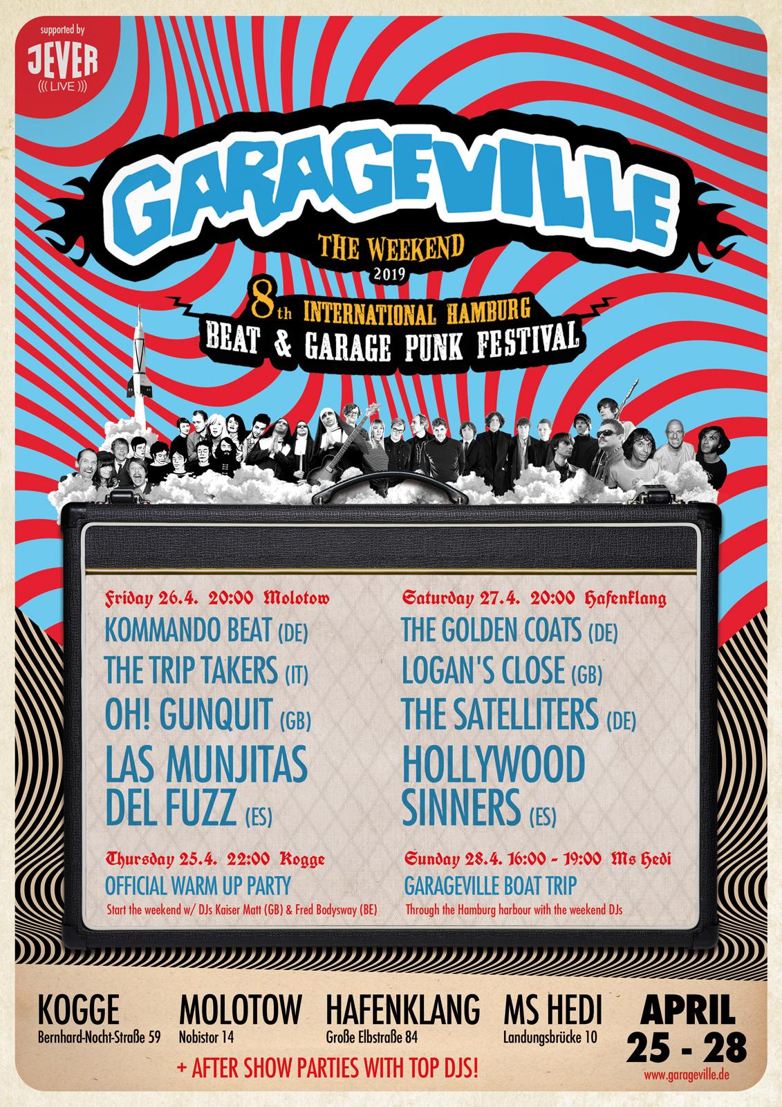 Preview: Garageville Saturday Day Ticket 2019