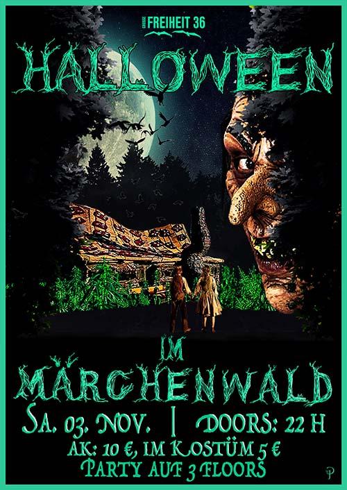 Preview: Halloween im Märchenwald-verkleidet