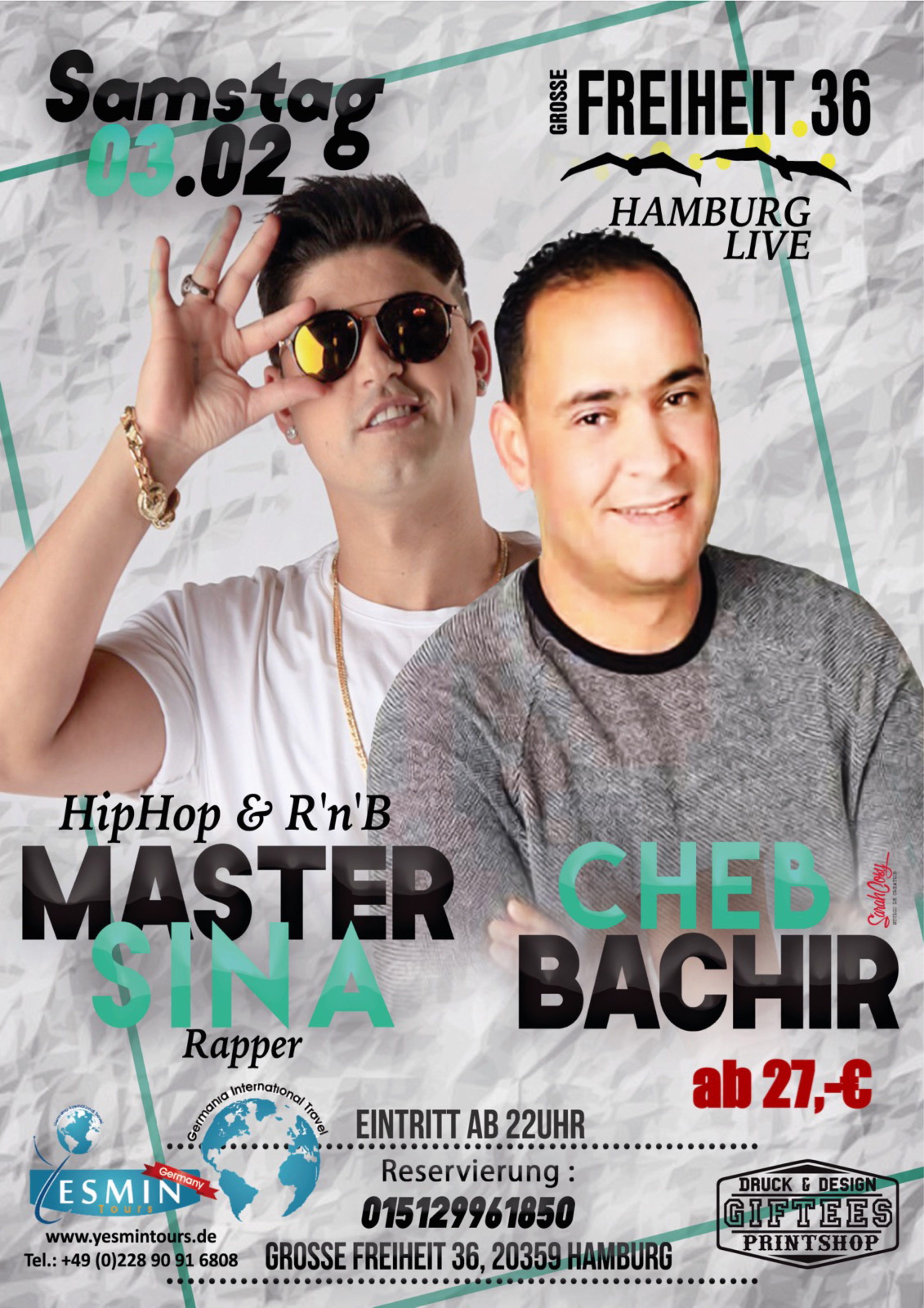 Preview: Master Sina & Cheb Bachir