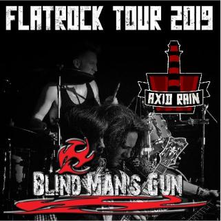 Preview: Axid Rain - FlatRock Tour 2019 ! Plus: Blind Man´s Gun