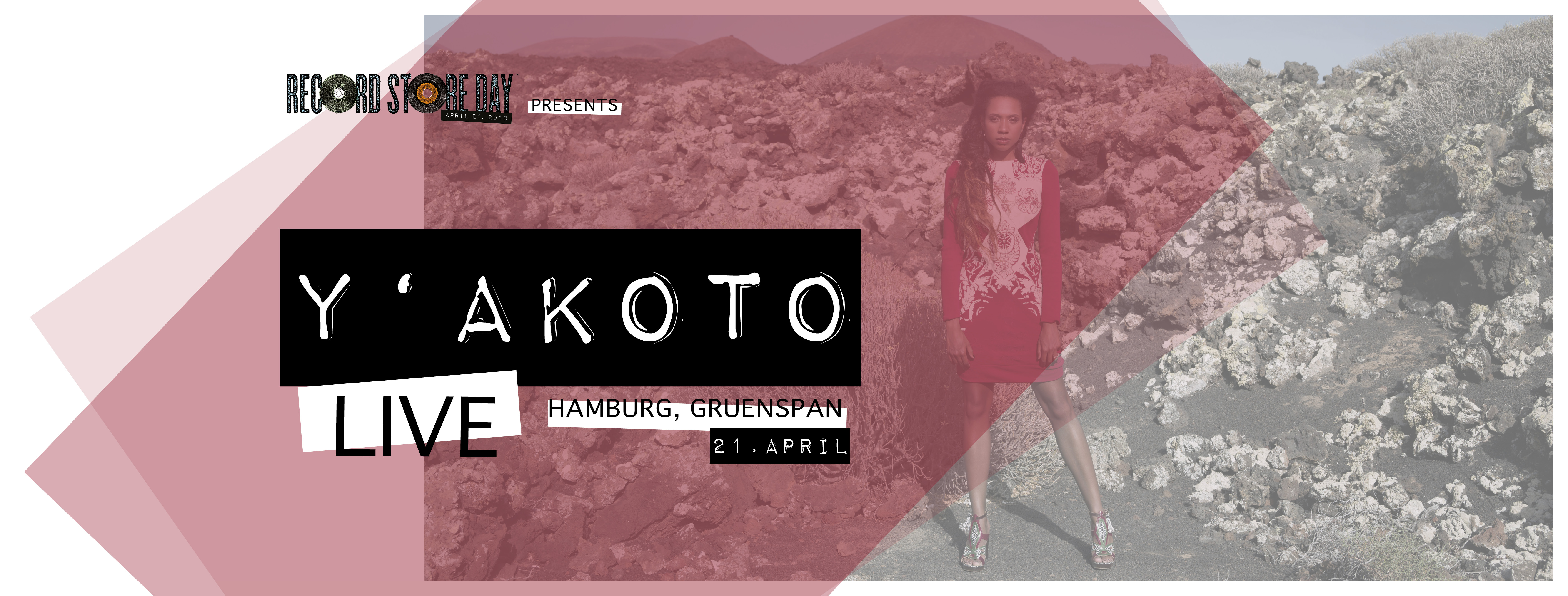 Preview: Y'akoto - Record Store Club Night