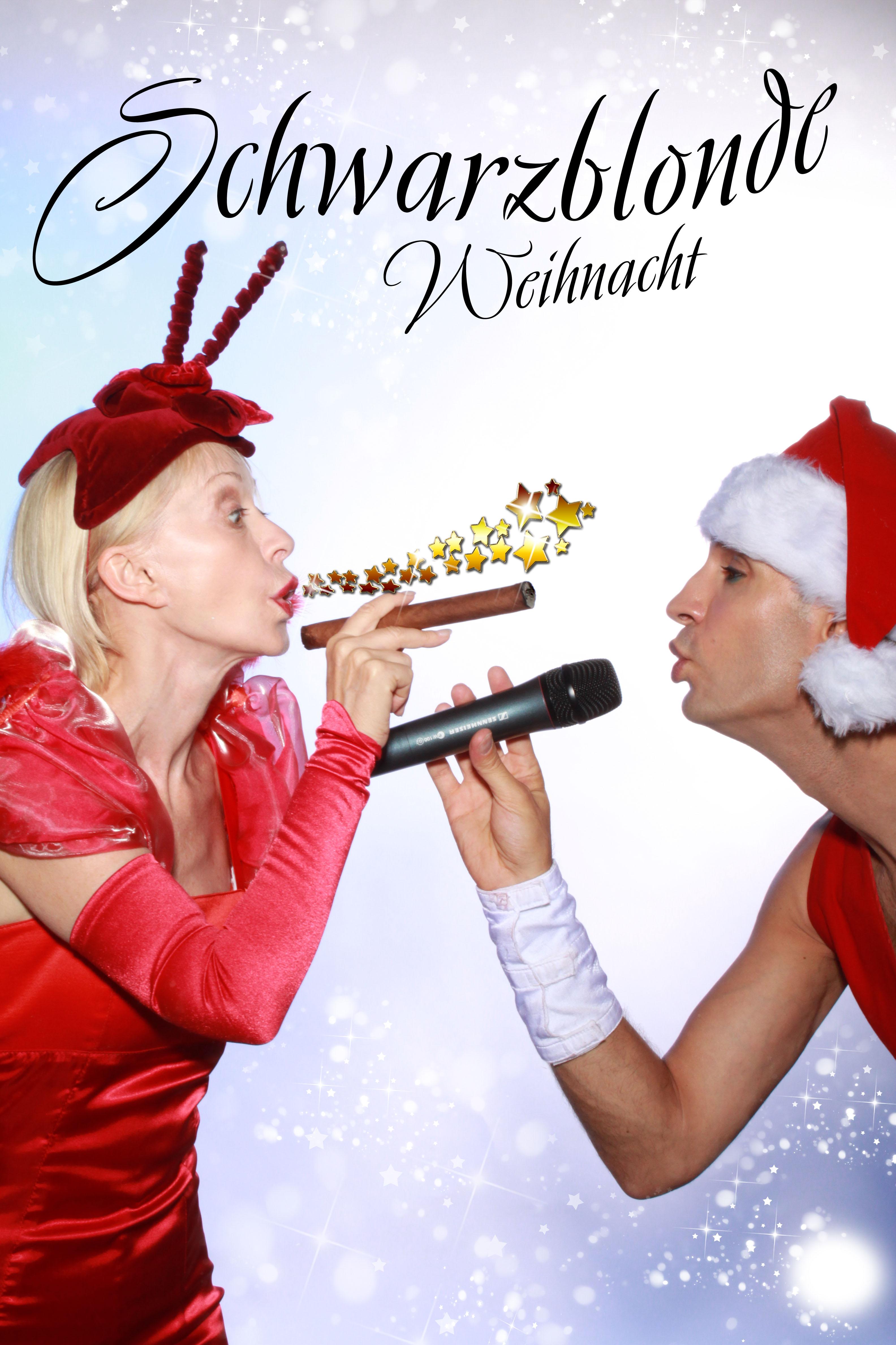 Preview: Schwarz-Blonde Weihnacht