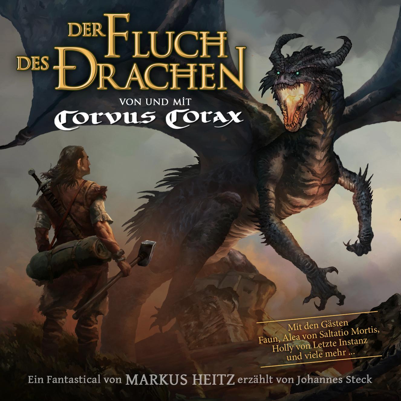 Preview: Fluch des Drachen mit Corvus Corax