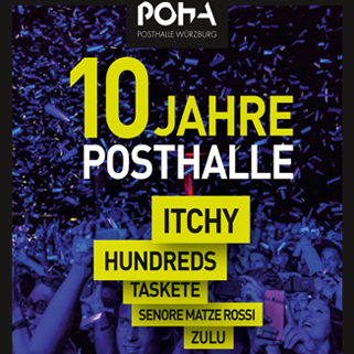 Preview: 10 Jahre Posthalle - Das Festival