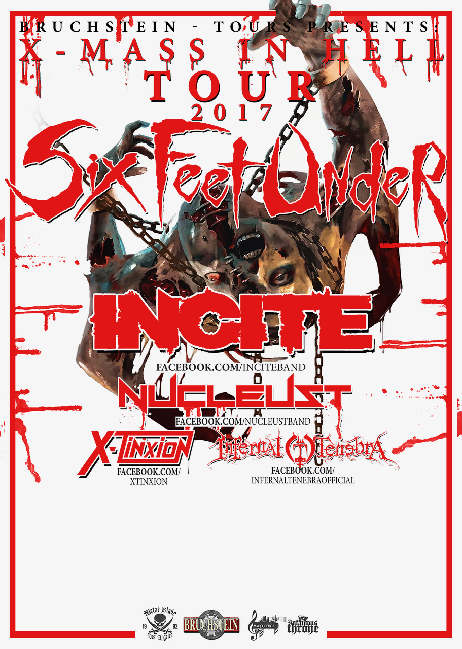 Preview: Six Feet Under - XMAS IN HELL Tour