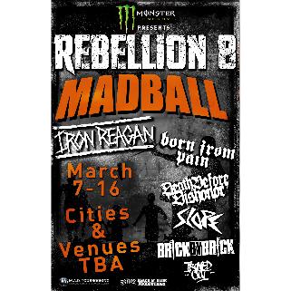 Preview: REBELLION TOUR 2019